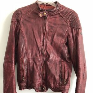 Men's Scotch&Soda 100% goat leather jacket